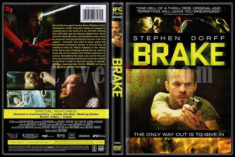 Brake (Ölüme Çeyrek Kala) - Scan Dvd Cover - English [2012]-brake-olume-ceyrek-kalajpg