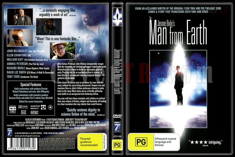 The Man from Earth (Dünyalı) - Scan Dvd Cover - English [2007]-man-earth-dunyalijpg