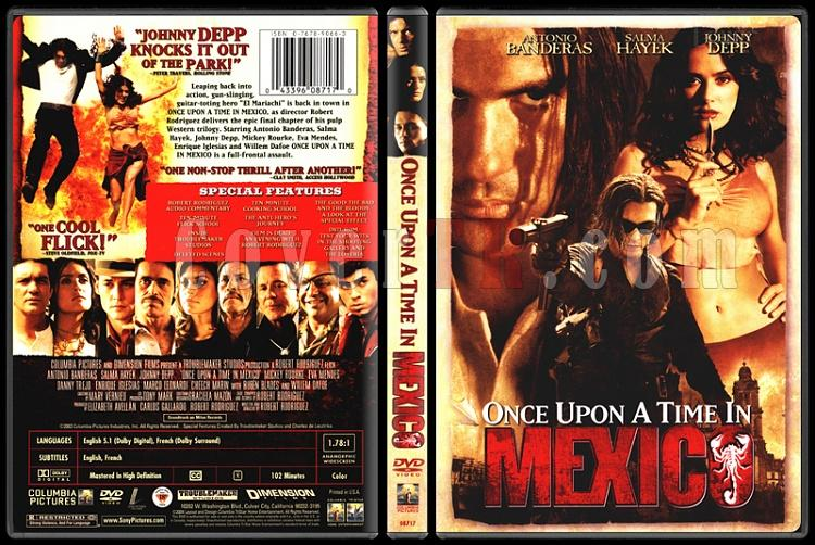 Once Upon a Time in Mexico (Bir Zamanlar Meksika'da) - Scan Dvd Cover - English [2003]-once-upon-time-mexico-bir-zamanlar-meksikada-scan-dvd-cover-english-2003-prejpg