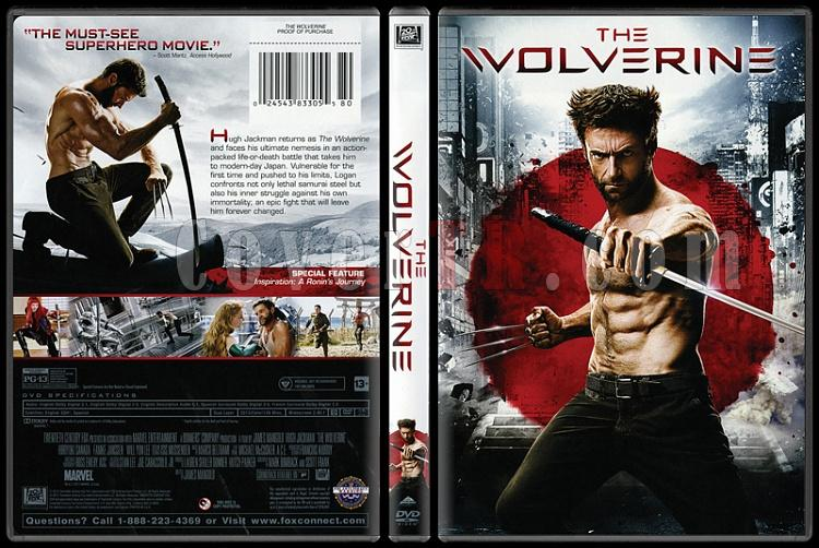The Wolverine - Scan Dvd Cover - English [2013]-wolvernjpg