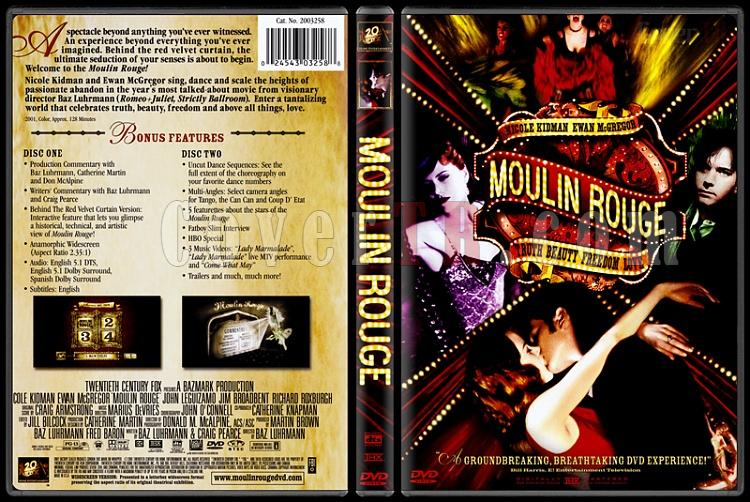 Moulin Rouge! (Kırmızı Değirmen) - Scan Dvd Cover - English [2001]-moulin-rouge-kirmizi-degirmenjpg