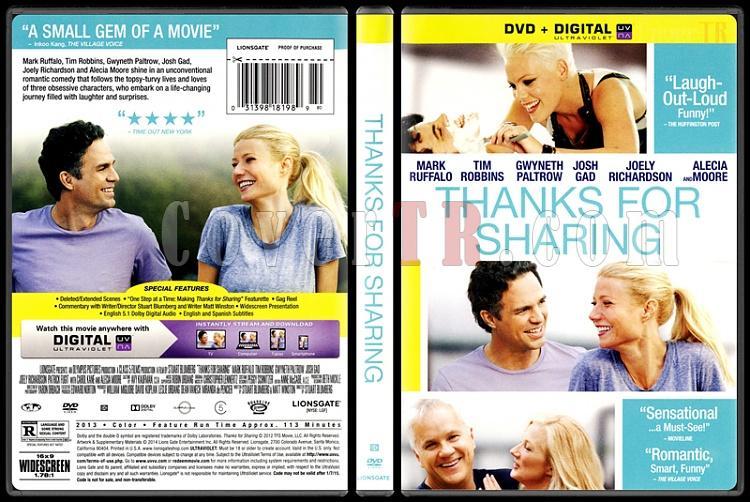 Thanks for Sharing (Paylaşım İçin Teşekkürler) - Scan Dvd Cover - English [2012]-thanks-sharing-paylasim-icin-tesekkurlerjpg