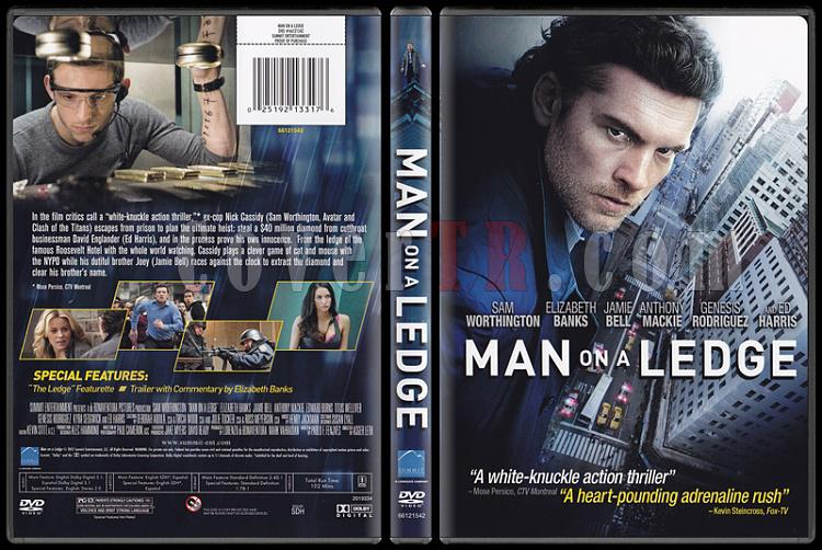 Man on a Ledge (Gerçeğin Peşinde) - Scan Dvd Cover - English [2012]-man_on_a_ledgejpg
