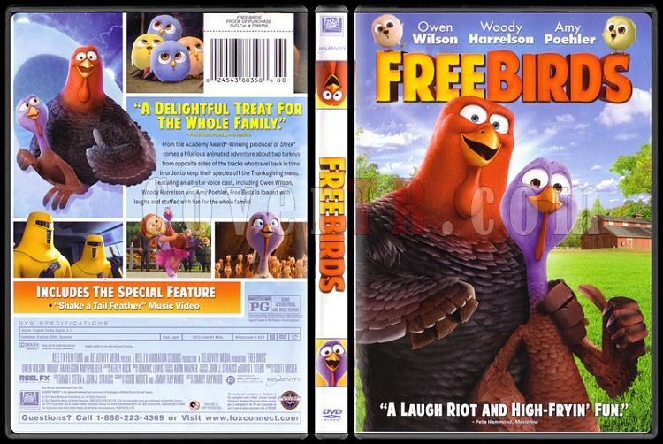 Free Birds (Kahraman İkili) - Scan Dvd Cover - English [2013]-birdsjpg