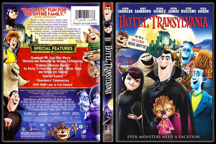 Hotel Transylvania - Scan Dvd Cover - English [2012]-hoteljpg