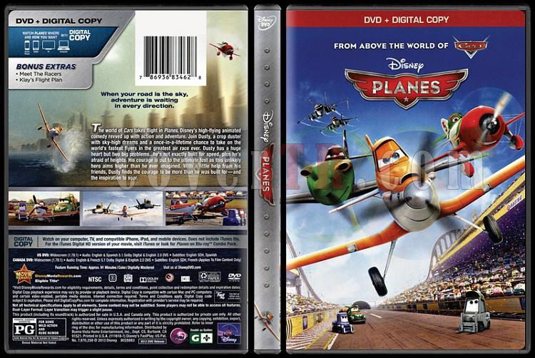 Planes (Uçaklar) - Scan Dvd Cover - English [2013]-planejpg