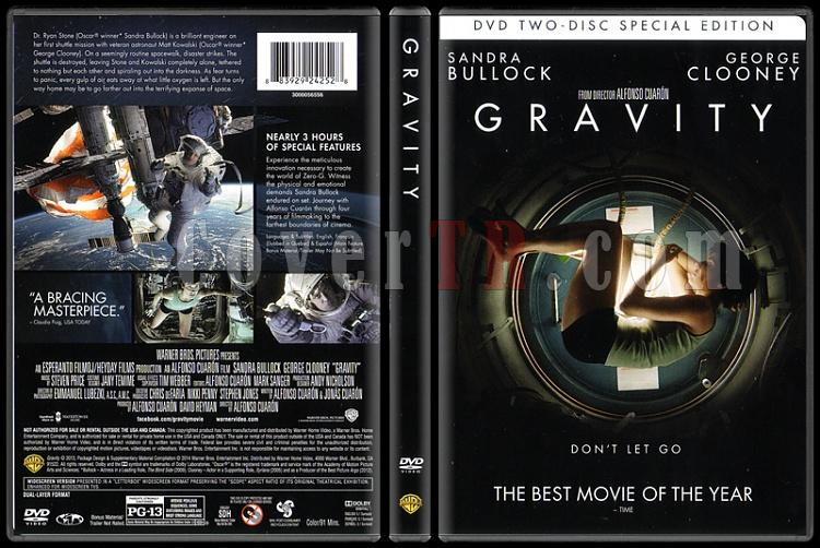 Gravity (Yerçekimi) - Scan Dvd Cover - English [2013]-gravityjpg