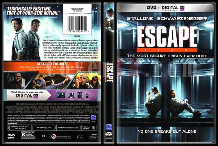 Escape Plan (Kaçış Planı) - Scan Dvd Cover - English [2013]-escape-planjpg