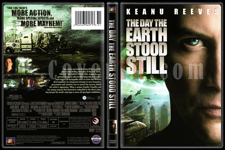 The Day The Earth Stood Still (Dünyanın Durduğu Gün) - Scan Dvd Cover - English [2008]-day-earth-stood-still-dunyanin-durdugu-gun-scan-dvd-cover-english-2008jpg