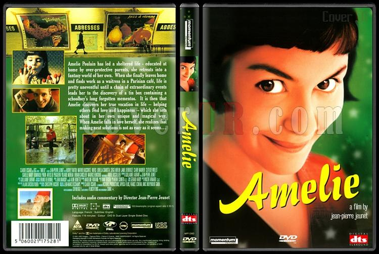 Amelie - Scan Dvd Cover - English [2001]-amelie-scan-dvd-cover-english-2001jpg