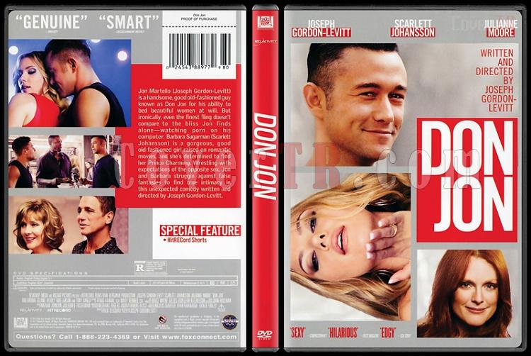 Don Jon (Kalbim Sende) - Scan Dvd Cover - English [2013]-don-jon-kalbim-sendejpg
