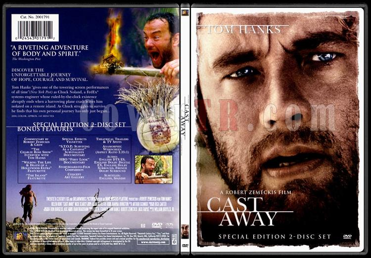 Cast Away (Yeni Hayat) - Scan Dvd Cover - English [2000]-thinpakjpg