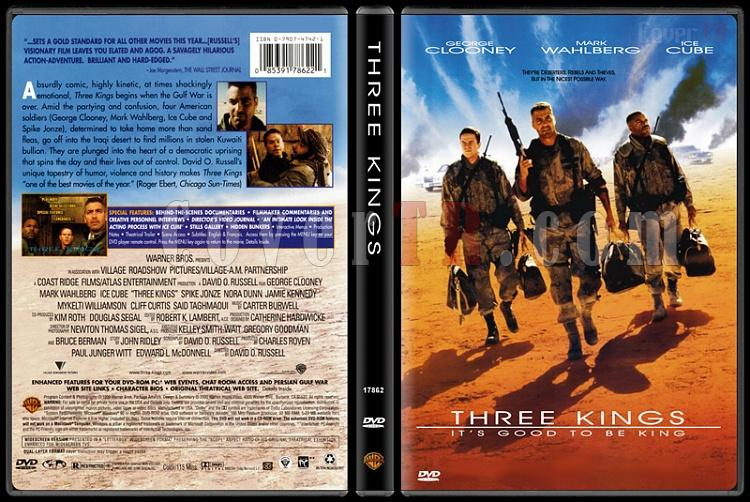 Three Kings (Üç Kral) - Scan Dvd Cover - English [1999]-three-kings-uc-kral-scan-dvd-cover-english-1999jpg
