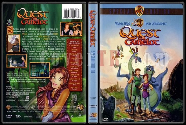 Quest for Camelot (Sihirli Kılıç: Camelot'u Arayış) - Scan Dvd Cover - English [1998]-onizlemejpg