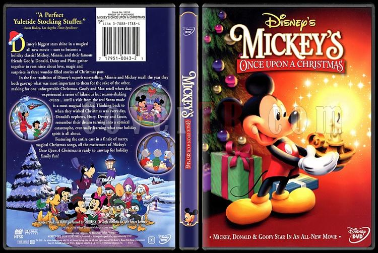Mickey's Once Upon a Christmas - Scan Dvd Cover - English [1999]-onizlemejpg