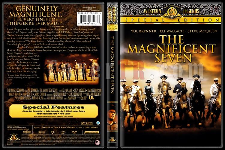 The Magnificent Seven (Yedi Silahşörler) - Scan Dvd Cover - English [1960]-standardjpg
