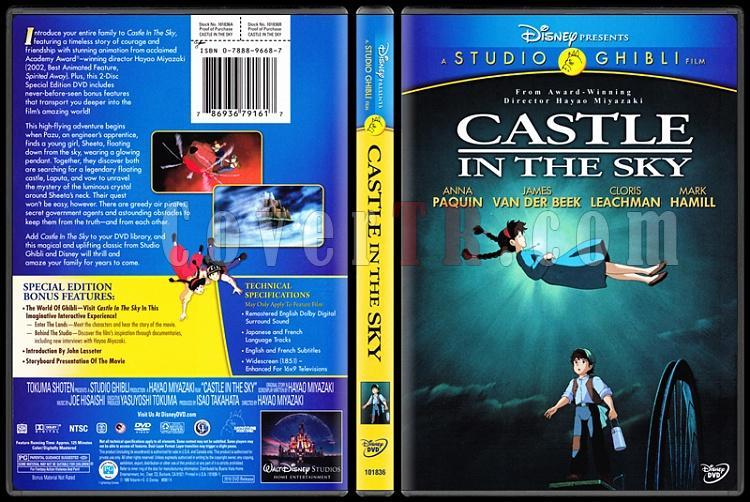 Castle in the Sky (Gökteki Kale) - Scan Dvd Cover - English [1986]-onizlemejpg