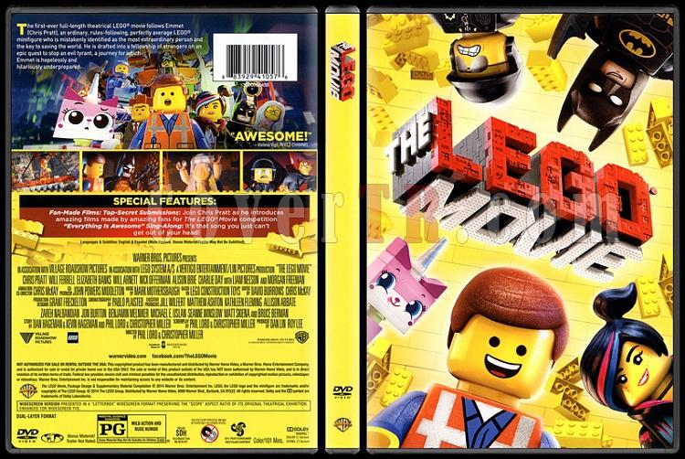 The Lego Movie (Lego Filmi) - Scan Dvd Cover - English [2014]-onizlemejpg