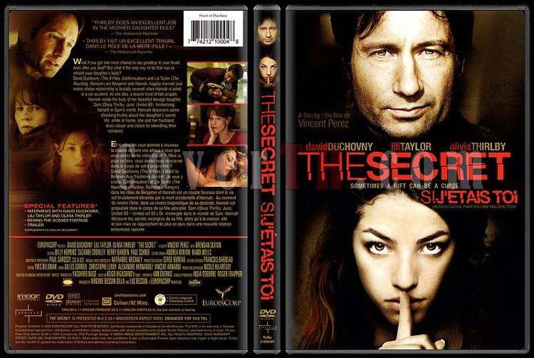 The Secret / Si j'étais toi (Sır) - Scan Dvd Cover - English/French [2007]-onizlemejpg