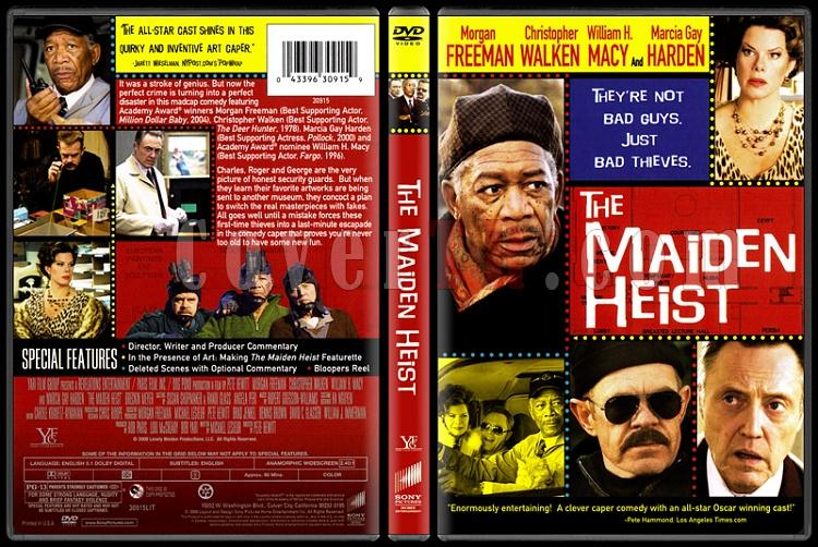 The Maiden Heist - Scan Dvd Cover - English [2009]-onizlemejpg