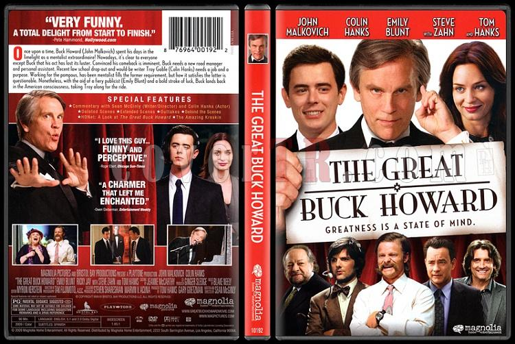 The Great Buck Howard (Muhteşem Howard) - Scan Dvd Cover - English [2008]-onizlemejpg