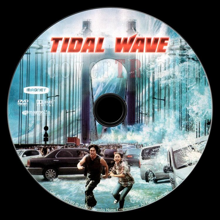 Tidal Wave (Tsunami) - Scan Dvd Label - English [2009]-tidal-wave-tsunami-scan-dvd-labeljpg