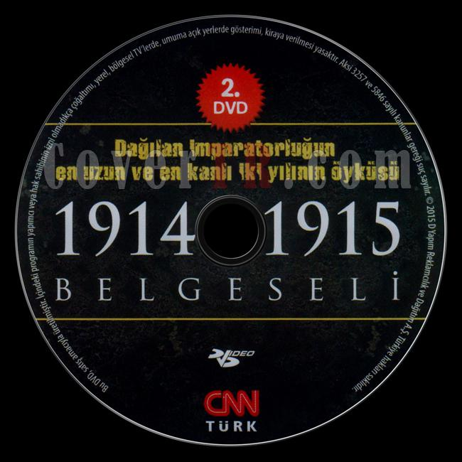 1914-1915 Belgeseli (Disc 2) - Scan Dvd Label - Türkçe [2015]-1914-1915-belgeseli-dvd-2jpg