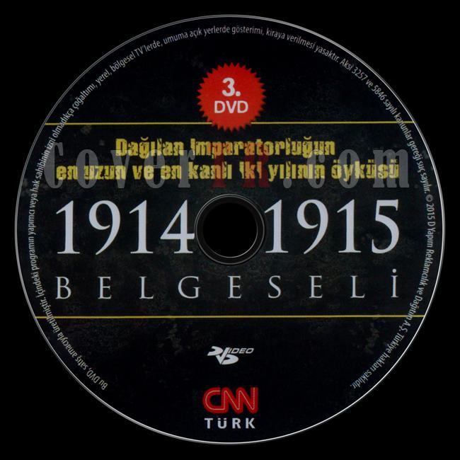 1914-1915 Belgeseli (Disc 3) - Scan Dvd Label - Türkçe [2015]-1914-1915-belgeseli-dvd-3jpg