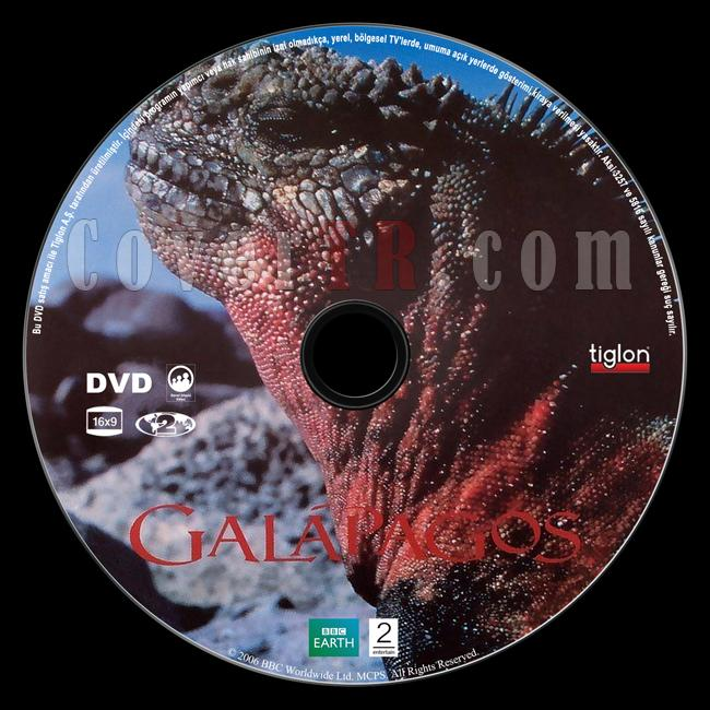 BBC Earth: Galapagos - Scan Dvd Label - Türkçe [2006]-bbc-earth-galapagosjpg