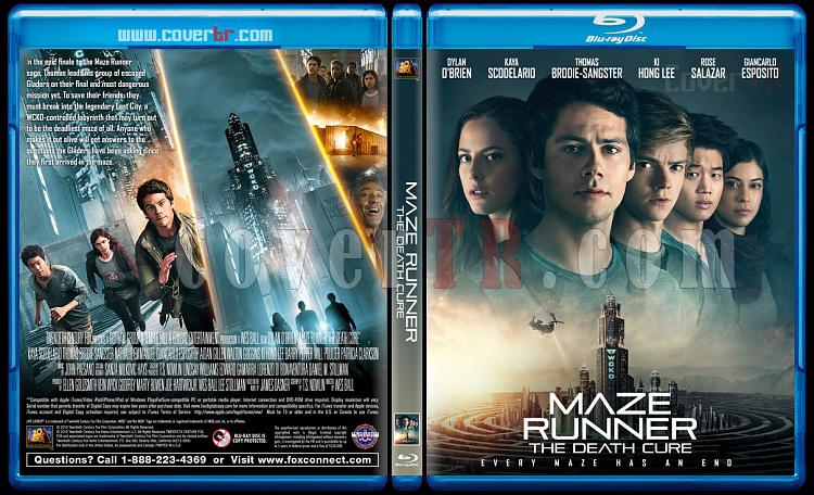 Maze Runner: The Death Cure (Labirent: Son İsyan) - Custom Bluray Cover - English [2018]-1jpg