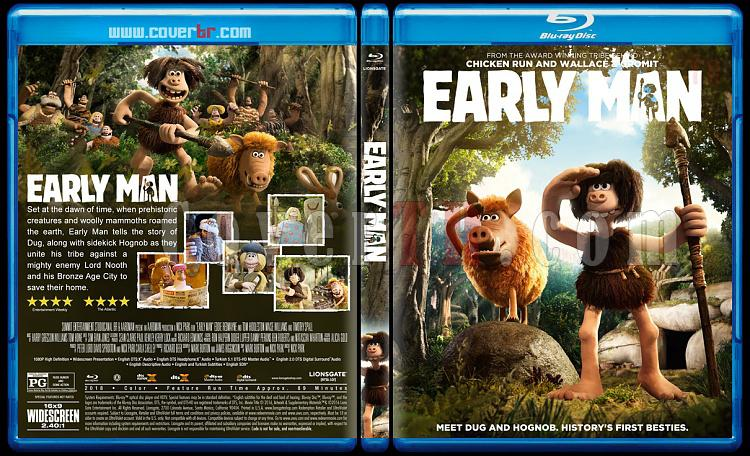 Early Man (Taş Devri Firarda) - Custom Bluray Cover - English [2018]-2jpg