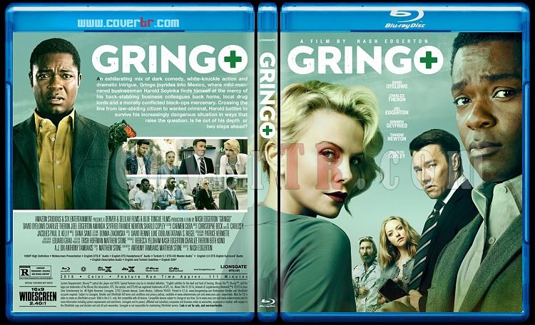 Gringo - Custom Bluray Cover - English [2018]-2jpg