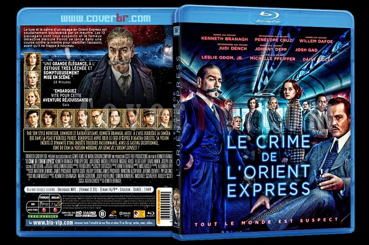 Le Crime de l'Orient-Express (Murder on the Orient Express) - Custom Bluray Cover - French [2018]-crime11jpg