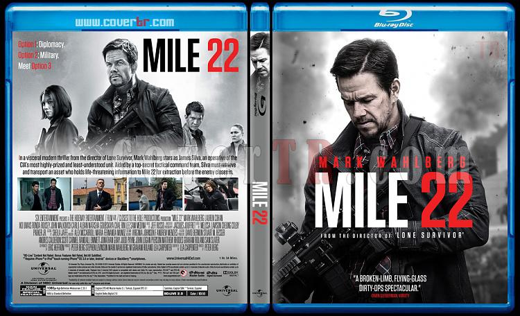 Mile 22 - Custom Bluray Cover - English [2018]-01jpg