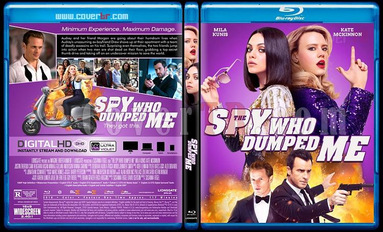 The Spy Who Dumped Me (Beni Satan Casus) - Custom Bluray Cover - English [2018]-1jpg