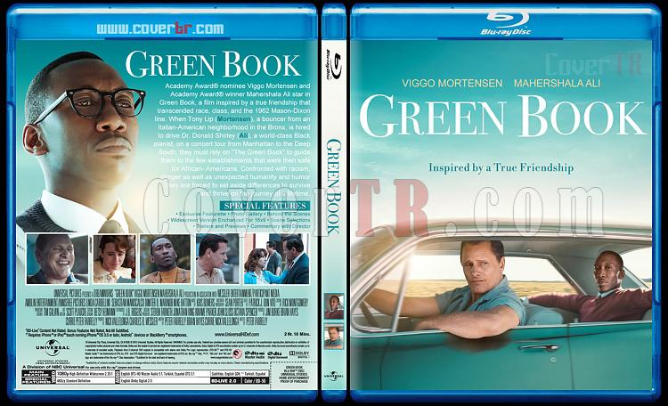 Green Book (Yeşil Defter) - Custom Bluray Cover - English [2018]-03jpg