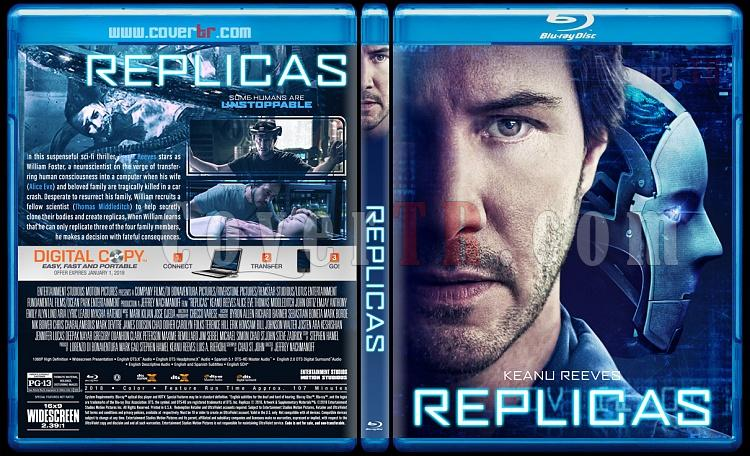 Replicas (Replikalar) - Custom Bluray Cover - English [2018]-01jpg