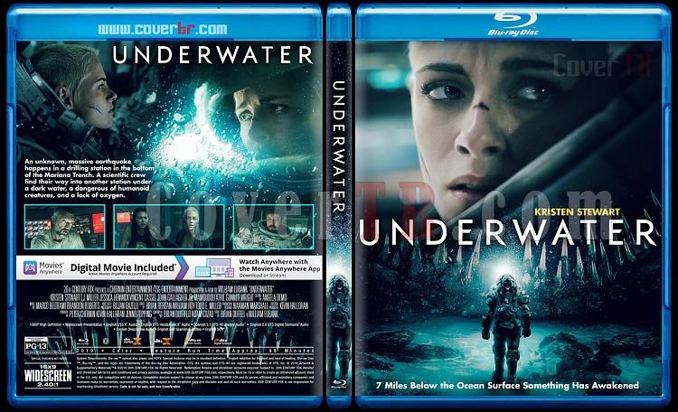 Underwater (Derin Sular) - Custom Bluray Cover - English [2019]-1jpg