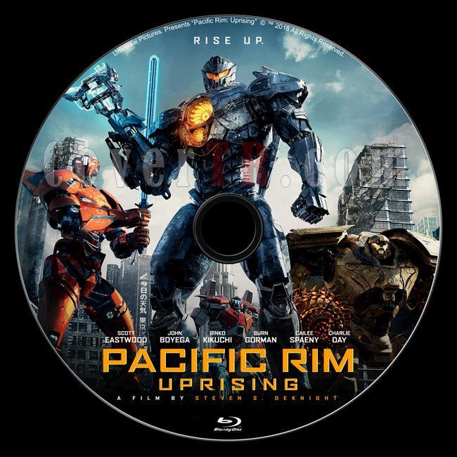 Pacific Rim Uprising (Pasifik Savaşı İsyan) - Custom Bluray Label - English [2018]-b01jpg