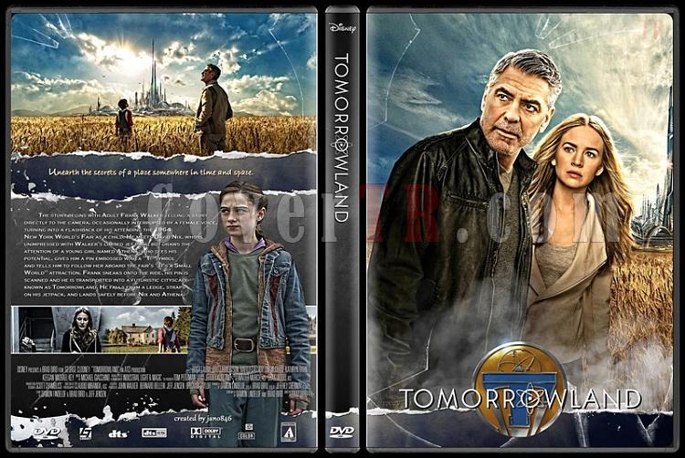 Tomorrowland Custom Dvd Cover English 2015 Covertr