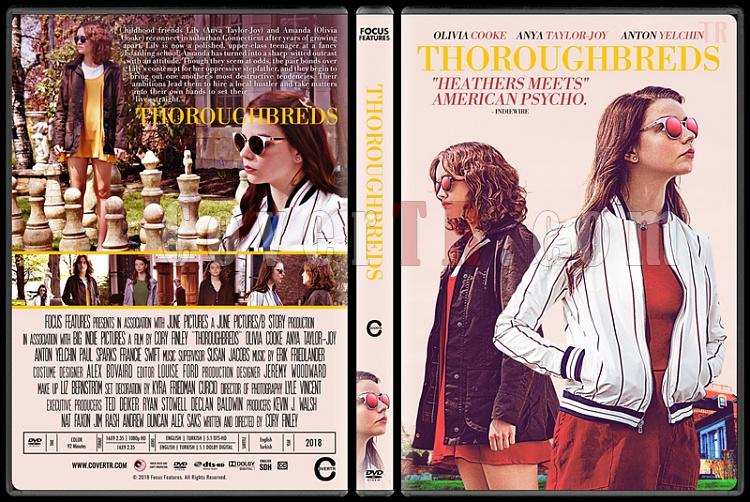 Thoroughbreds - Custom Dvd Cover - English [2018]-02jpg