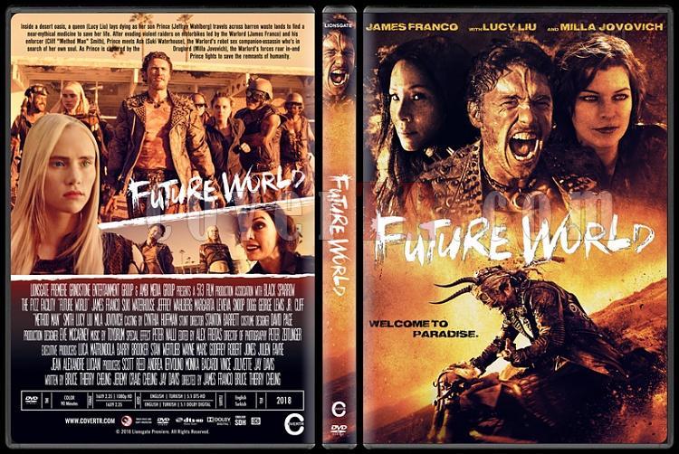 Future World - Custom Dvd Cover - English [2018]-2jpg
