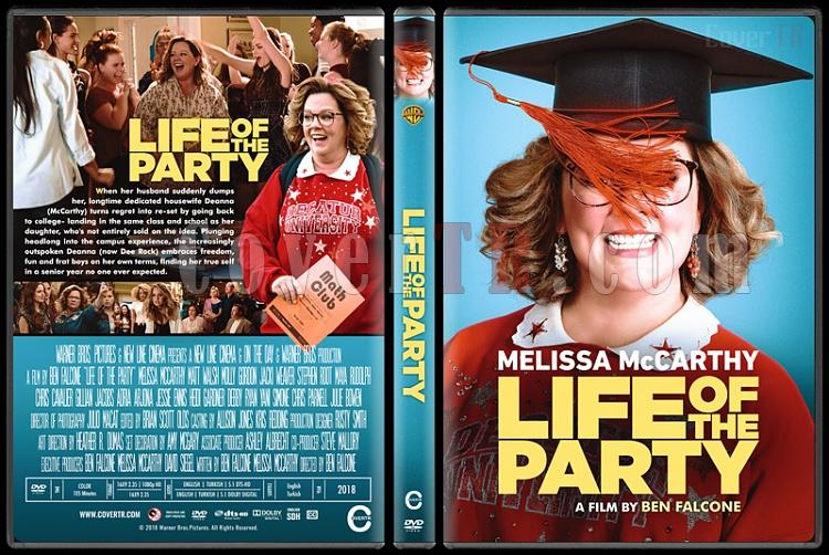 Life of the Party (How to Party with Mom) - Custom Dvd Cover - English [2018]-standardjpg