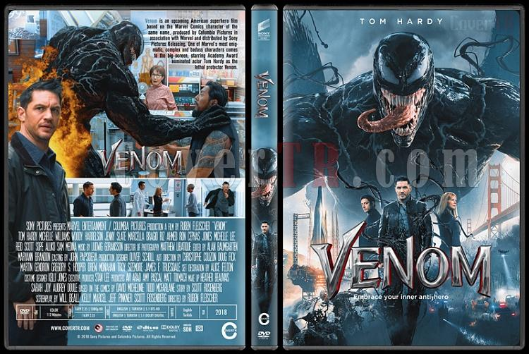 Venom (Venom: Zehirli Öfke) - Custom Dvd Cover - English [2018]-02jpg