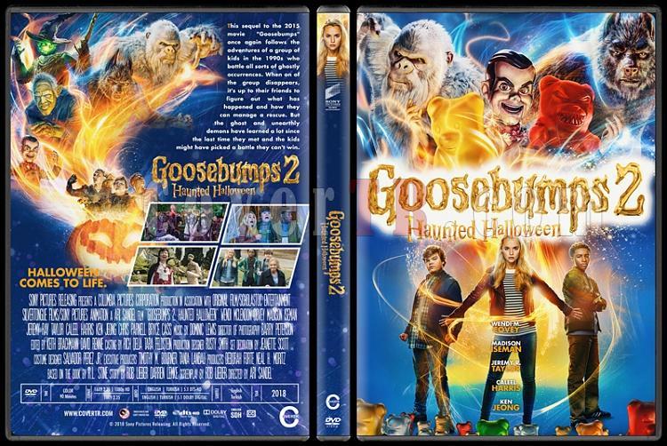 Goosebumps 2: Haunted Halloween - Custom Dvd Cover - English [2018]-1jpg