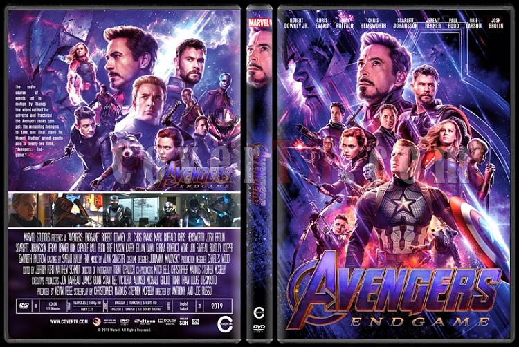 Avengers: Endgame - Custom Dvd Cover - English [2019]-1jpg