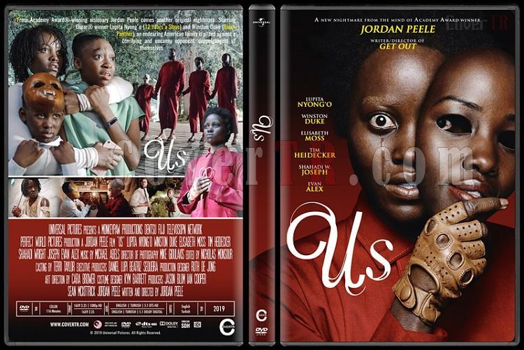 Us (Biz) - Custom Dvd Cover - English [2019]-2jpg