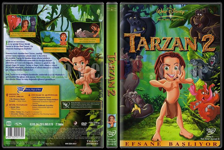 Tarzan 2 Dvd Tarzan 2 Scan Dvd Cover