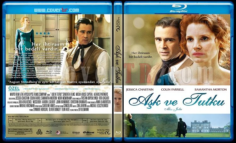 Miss Julie 2014 Dvd Cover