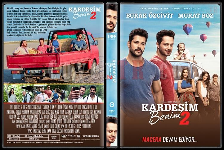 Kardeşim Benim 2 - Custom Dvd Cover - Türkçe [2017]-1jpg